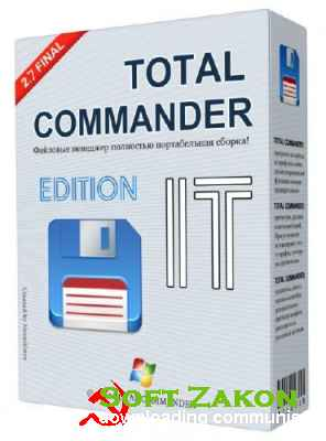 Total Commander v 8.01 IT Edition 2.7 Final (2013|RUS)