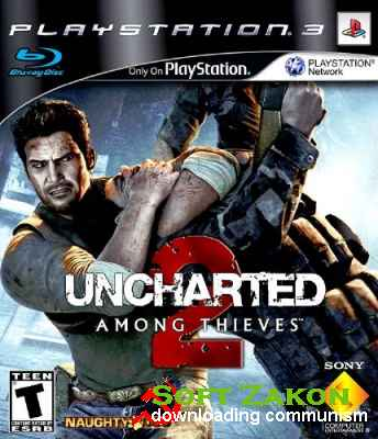 Uncharted 2: Among Thieves (2009/PS3/PAL/RUS/ENG/DLC)