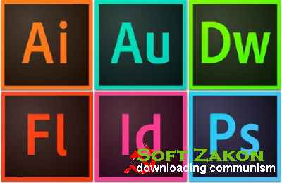 6 Adobe Applications CC Portable от punsh (2014/x64/RUS/ENG/UKR)