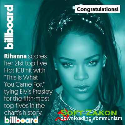 Billboard Hot 100 Singles Chart 06.08.2016 (2016)