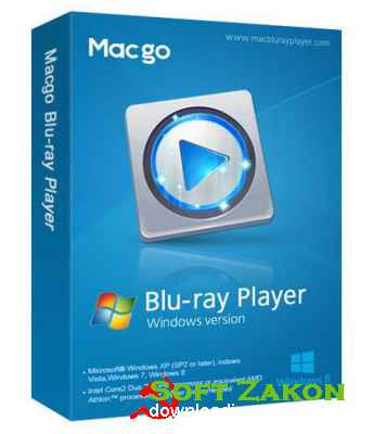 Macgo Windows Blu-ray Player 2.17.1.2524
