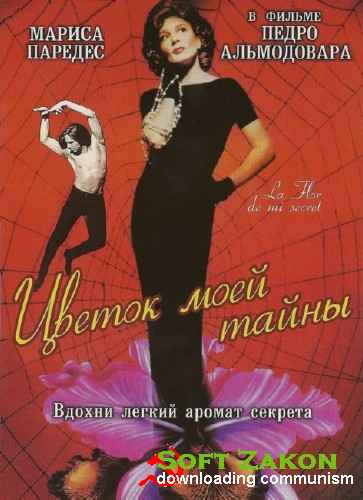 Цветок моей тайны / The Flower of My Secret / La flor de mi secreto (1995) HDRip / BDRip 720p / BDRip 1080p